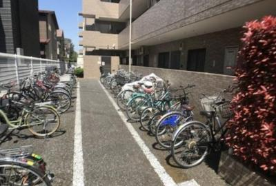 【駐輪場】グランステージ武蔵藤沢