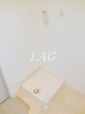 室内洗濯機置き場です。(同一仕様)