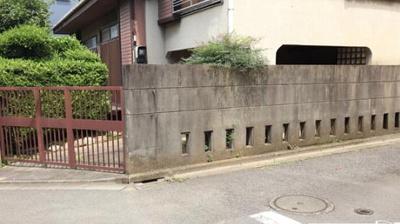 【外観】三鷹市新川4丁目 建築条件付き売地 京王線 仙川駅