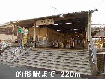 山電的形駅まで220m