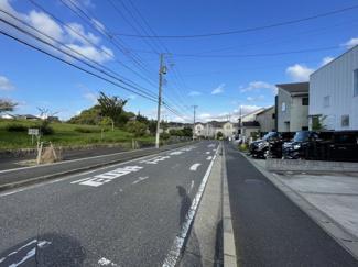 前面道路:公道
