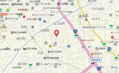 【地図】ACTY祇園