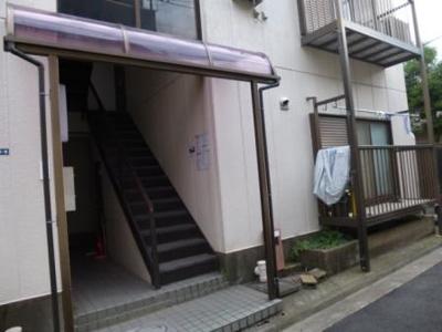 【エントランス】高木ハイツ