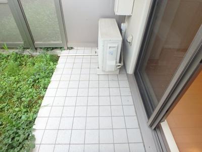 【バルコニー】レジディア武蔵小杉