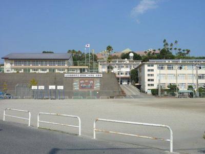 武中学校まで2626m