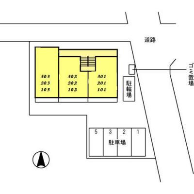 【区画図】グリーンビレッジ