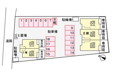 【地図】ボヌール Ⅱ