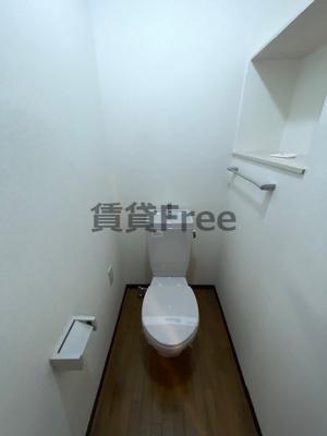 【トイレ】ビラージュプラム 仲介手数料無料