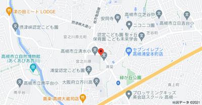 【地図】清水ハイツ