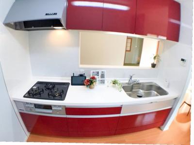 キッチン本体の写真です♪