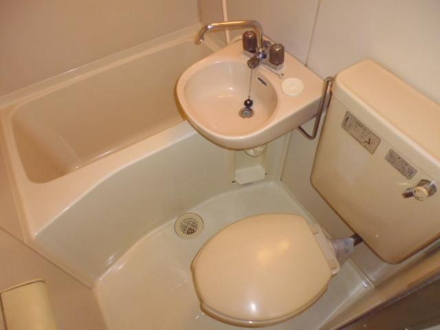 【浴室】フラワーハイム