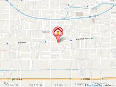 【地図】ユキコート斎院