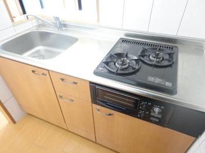 キッチン(2口・グリル)