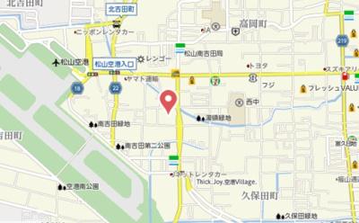 【地図】プロヌーブ南吉田