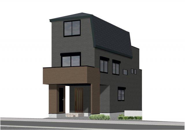 建物プラン 3階建2LDK+2S+車庫 建物面積約131.21㎡(建物価格:2400万円)