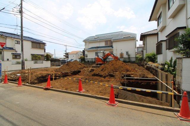 【前面道路含む現地写真】小平市鈴木町1丁目 新築戸建て 全2棟 1号棟
