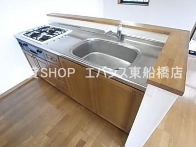 【キッチン】グローバルヴィラ壱番館