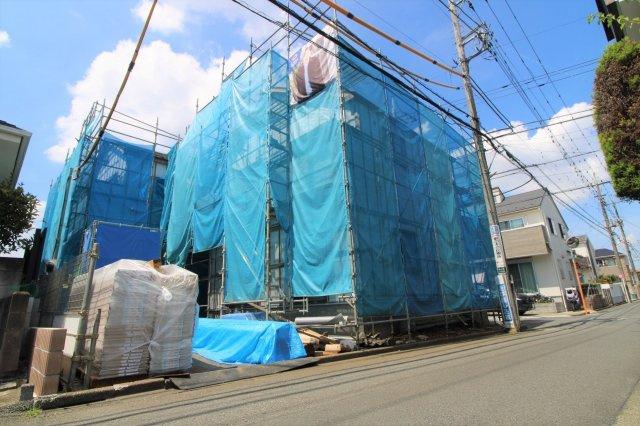 【前面道路含む現地写真】小平市鈴木町1丁目 新築戸建て 全2棟 2号棟