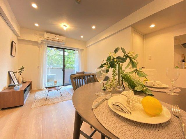 新規リノベーションマンションにつき快適に新生活をスタートできます 都営大江戸線「練馬春日町」駅徒歩8分です