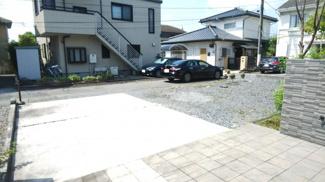 4台駐車可能です