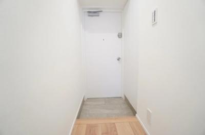 芝パークサイドハイツの玄関です。