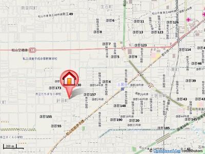 【地図】ローズガーデン三上