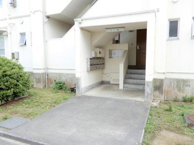 【エントランス】ビレッジハウス今宿1号棟