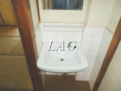 洗面台です。