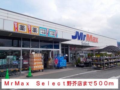 MrMaxSelect野芥店まで500m