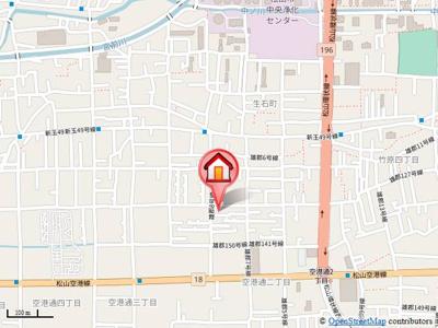 【地図】アルバトロス空港通 B