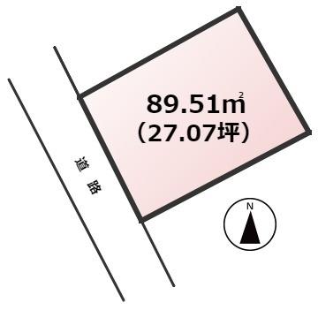 【土地図】新宮町緑ヶ浜2丁目土地