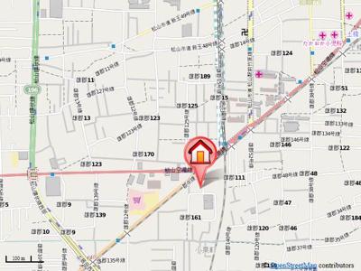 【地図】A34