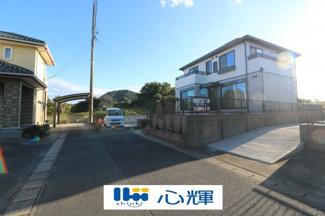 【前面道路含む現地写真】山口市阿知須 中古2F