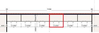 SkiiMa(スキーマ) 固定デスク区画図面(左より1~6番)