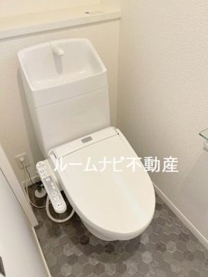 【トイレ】千駄木2丁目一戸建て