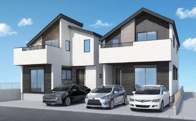シックな外観のデザイン住宅♪限定2棟が誕生です♪