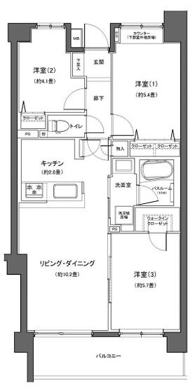 大倉山北パークホームズ弐番館