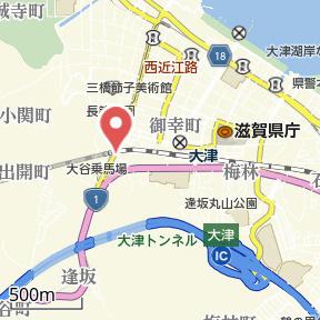 【地図】桂ビル