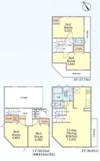 新築戸建 4LDK 鶴見線「鶴見小野」駅徒歩7分 生活利便施設充実 住宅設備も充実