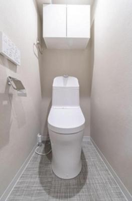 麻布狸穴ナショナルコートのトイレです。