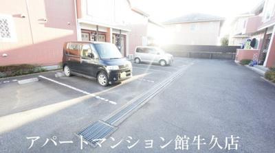 【駐車場】霞台ハイツA