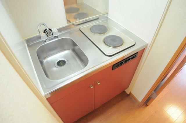 【キッチン】レオパレス早鈴