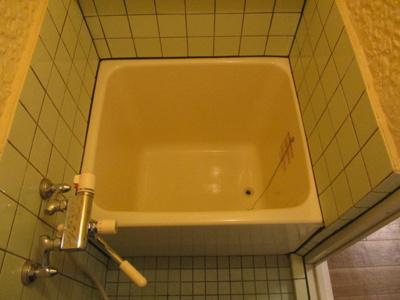 【浴室】スカイハイツ花園