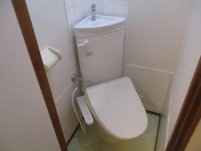 【トイレ】スカイハイツ花園