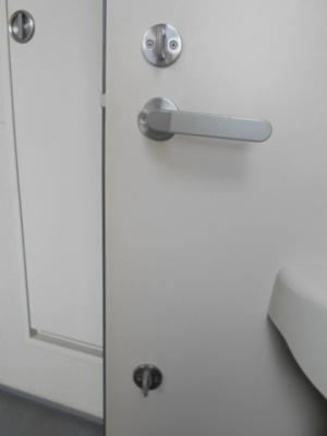 玄関ダブルロック