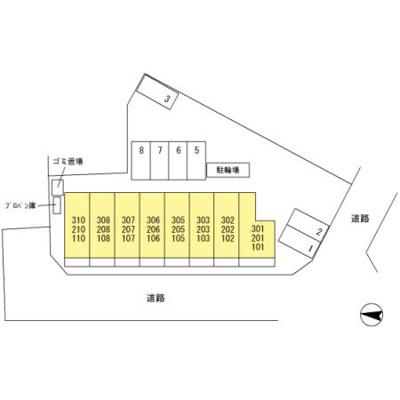 【区画図】ジュネス中央