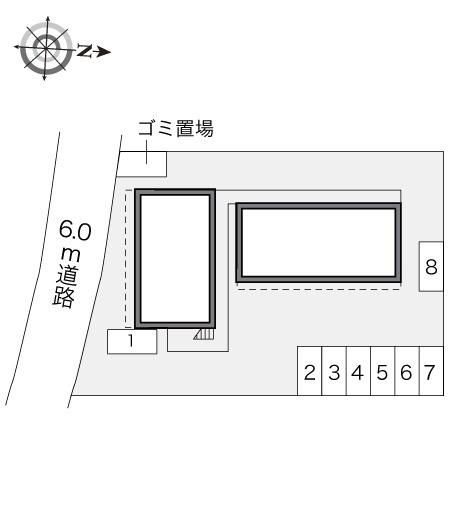 【区画図】レオパレス立野
