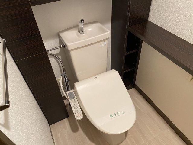 ルブラン薬院(4LDK) トイレ