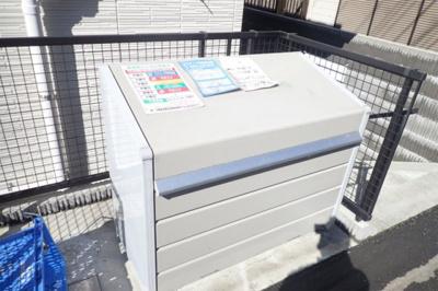 ごみ出しもラクラクの敷地内ゴミ置場完備です◎
