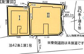 【区画図】ホワイトウイング狭間Ⅱ
